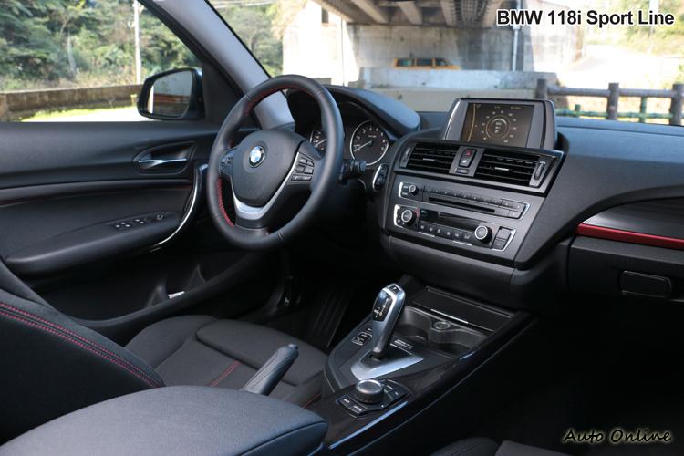 以一百多萬車價來看,BMW 118i讓人略感陽春。