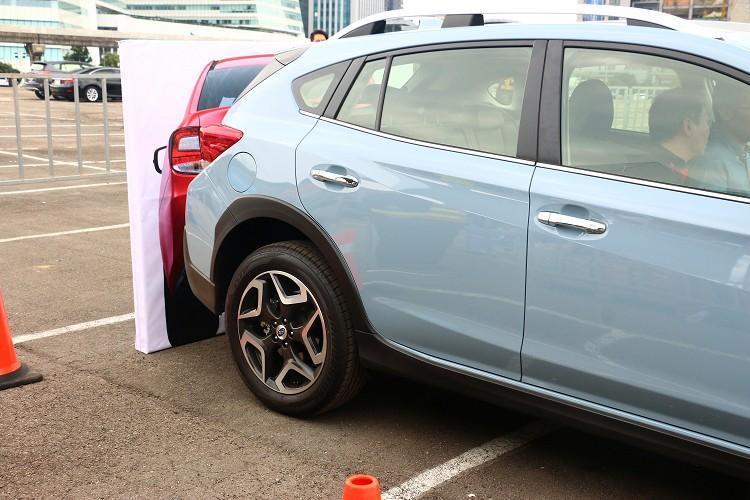 倒車自動煞停系統能預防駕駛者粗心未檢視後方狀況發生意外的危險,電腦介入立刻煞停車輛避免碰撞。