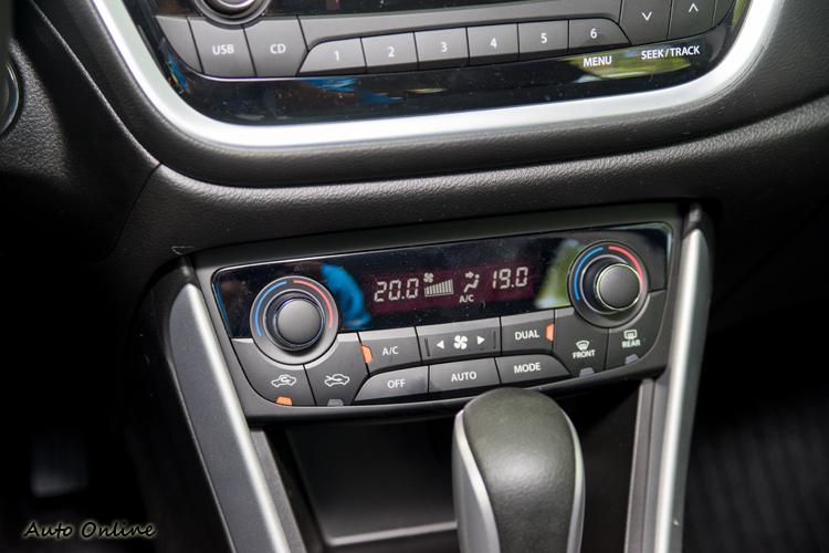 雙區恆溫空調系統。