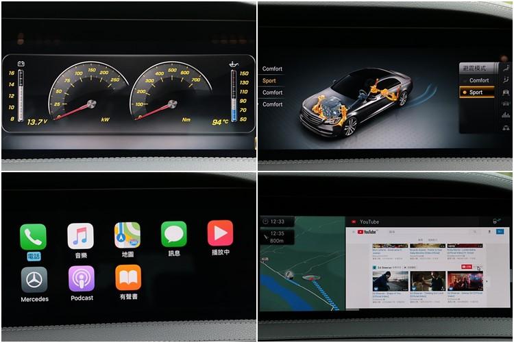 多媒體螢幕辨識性極佳,並以圖像和文字作為輔助,也提供豐富多樣的數位功能。