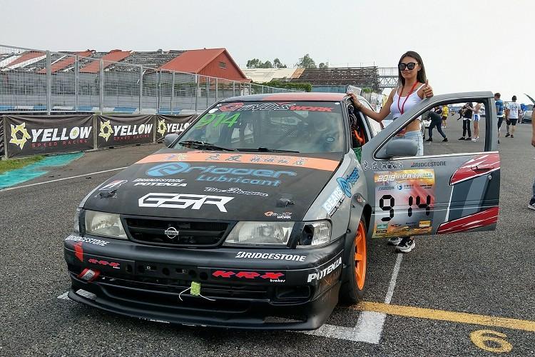 從新手開始跑到現在NTCC 2.0組,一路走來始終使用這輛1998年Nissan Sentra B14。