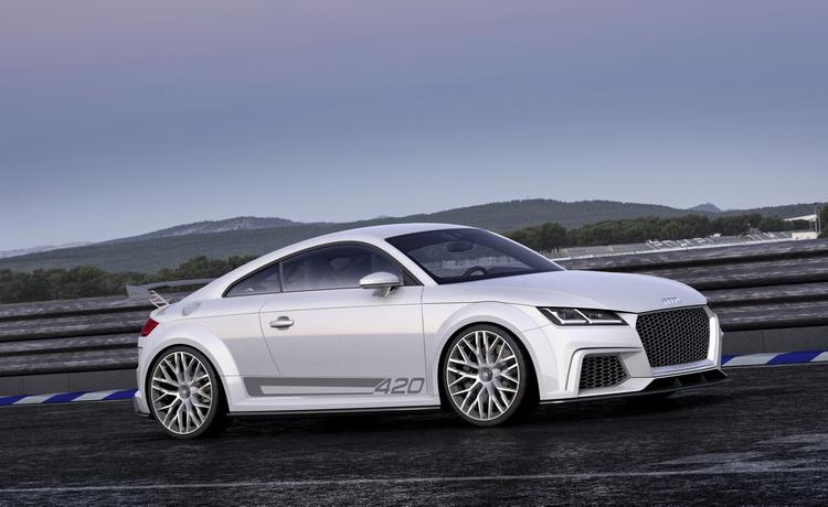 AUDI高層表示TT概念車上的CFRP車身未來會落實於量產車上,但事實上仍有不少待克服的問題