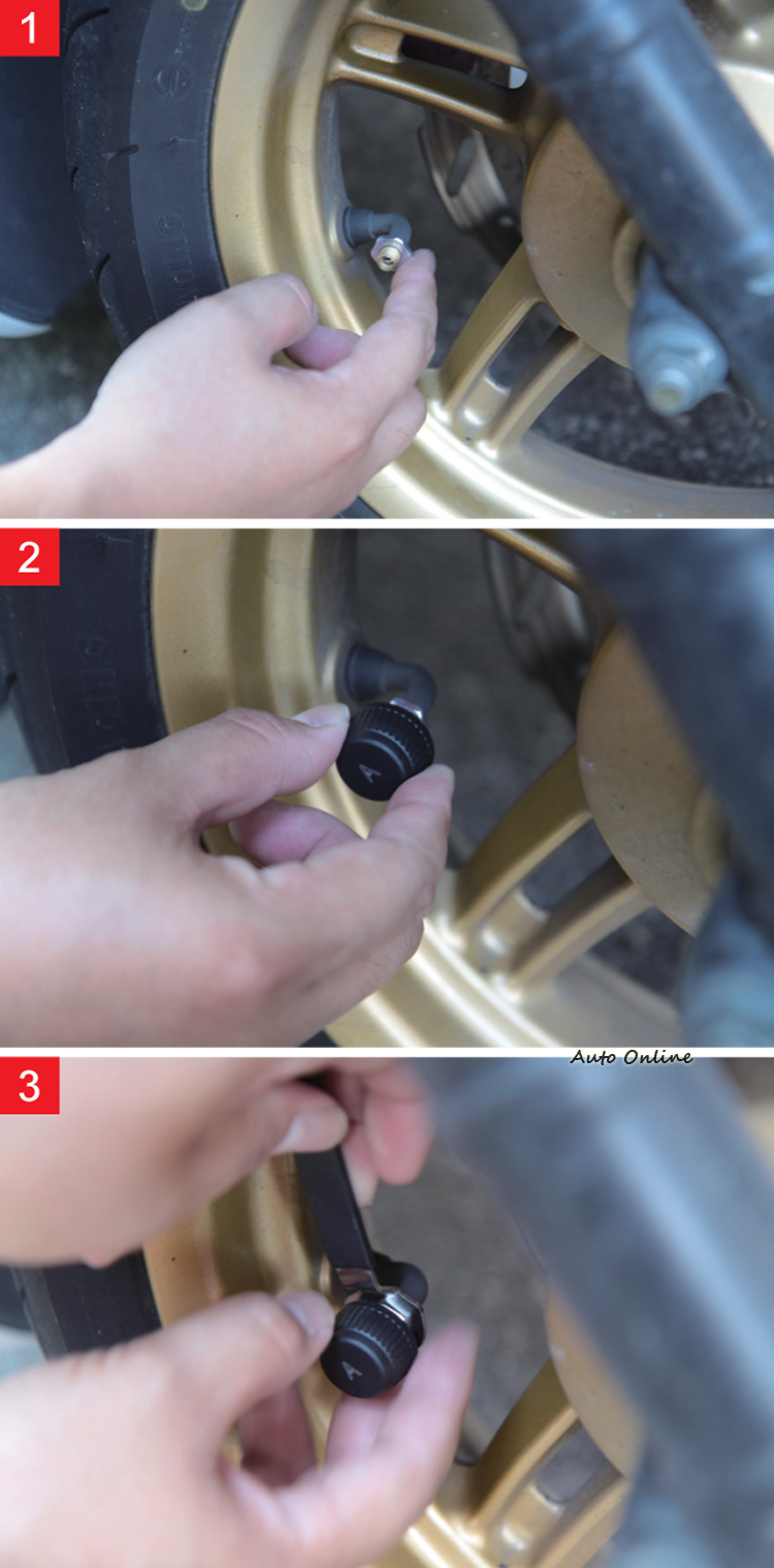傳感器的安裝步驟非常簡單,按照1、2、3步驟即可完成安裝。