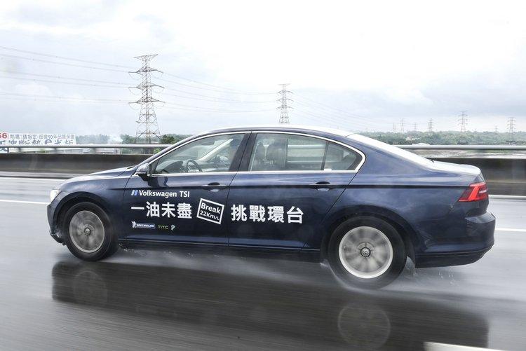 即使在大雨之下,參與本活動的車輛最後普遍的油耗表現都超越了官方數據。