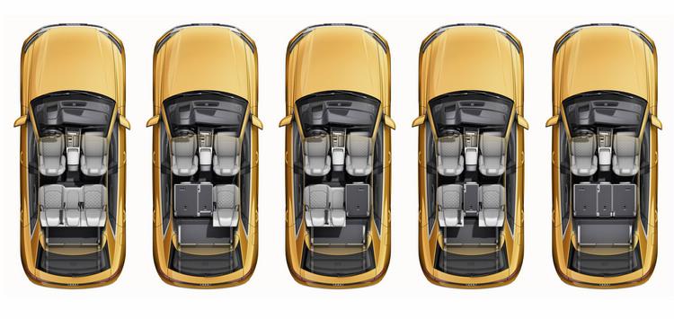 雙排五座的座椅配置,以及高度彈性的空間調整機能,都將會成為Q8吸引買家的重要特色。