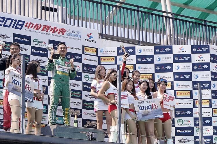 第一回合拿下NTCC 2.0組冠軍,隊友23號陳榮景奪得亞軍。