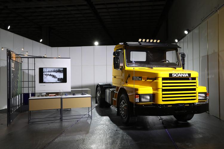 1986年出廠的Scania T112MA 4x2曾肩負中科院天弓飛彈運送任務,車齡迄今三十餘年依舊保有良好性能。