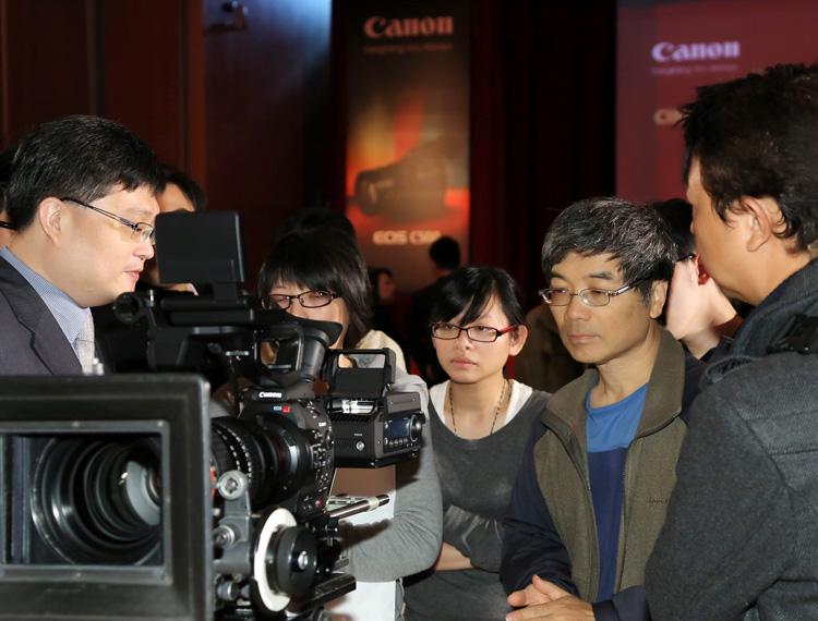Canon邀請眾多電影工作者一同體驗Cinema EOS專業級攝影機,正式宣告4K超高解析度影像世代的來臨。