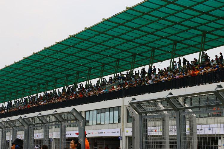 車手對於來台比賽,受到車迷的熱情反應感到相當高興。