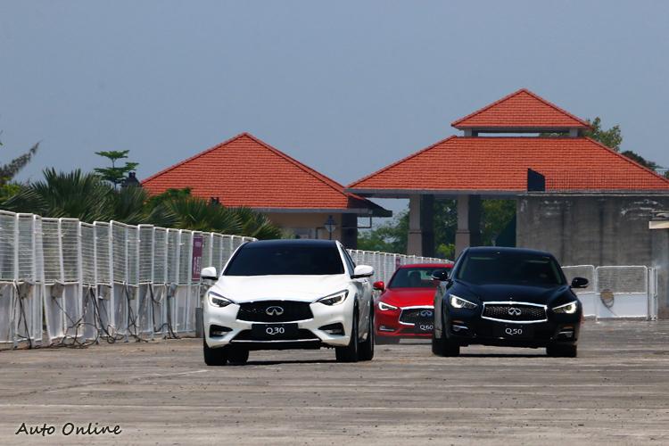 PFCW車輛追撞預警系統是INFINITI另一項創新科技,它不僅能偵測到前方車輛,還能透過雷達波偵測到再前一輛車輛狀態。