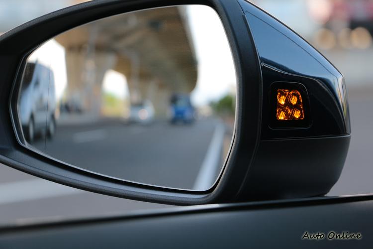 各項主被動安全配備也是推薦A3 Sportback 35 TFSI Premium的理由。