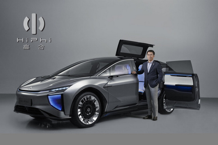�國新創汽車品牌「HiPhi」發表首款 SUV,強調汽車本身擁有「自主�習能力」
