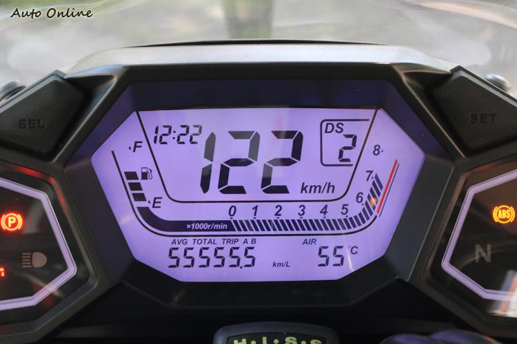 儀錶大玩聲光效果,共計有25種背光可選。兩側還有呼吸燈設計,會隨車速變化不同顏色。