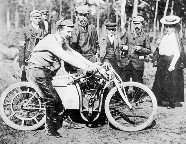 1905年SKODA的前身L&K是做腳踏車起家