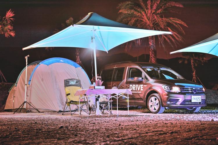 年輕動感的外在,藏著實用便利的元素,Caddy Maxi同時滿足家庭用車與多人出遊的需求。