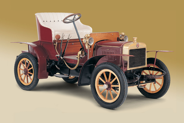 1899年 L&K生產的第一款汽車Voiturette A