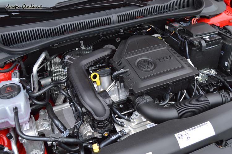 這組小排量渦輪引擎是目前Polo唯一引進的動力系統。