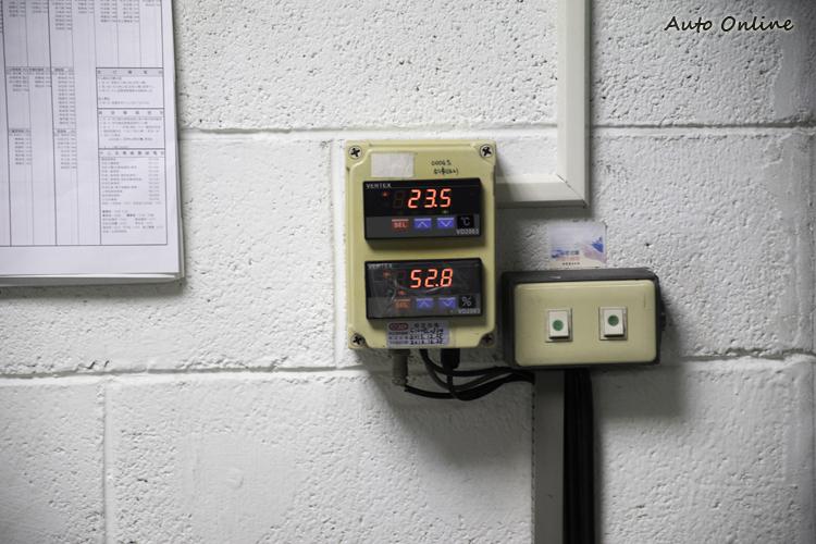 測試室內的溫度、濕度等皆需受到監控讓環境標準化。