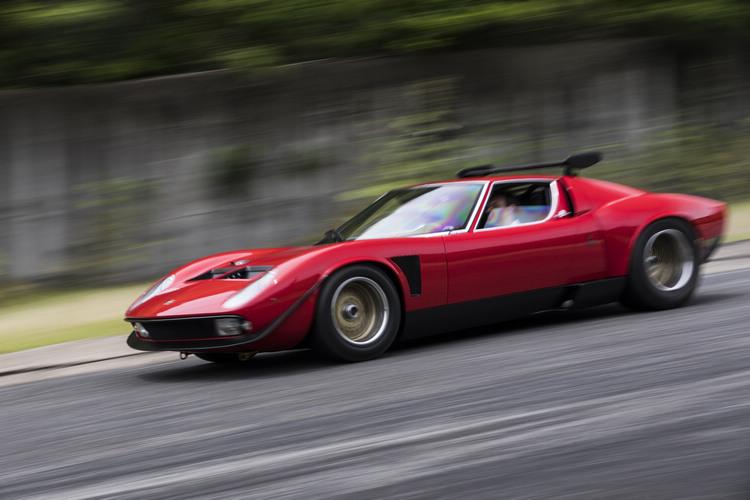 Lamborghini旗下的經典車修復部門Polo Storico花了19個月復原整車。