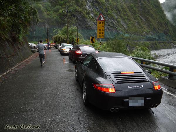 由於指導單位是台東縣政府,因此公路駕駛時只要跟前導車行駛就可以避免不必要的麻煩。