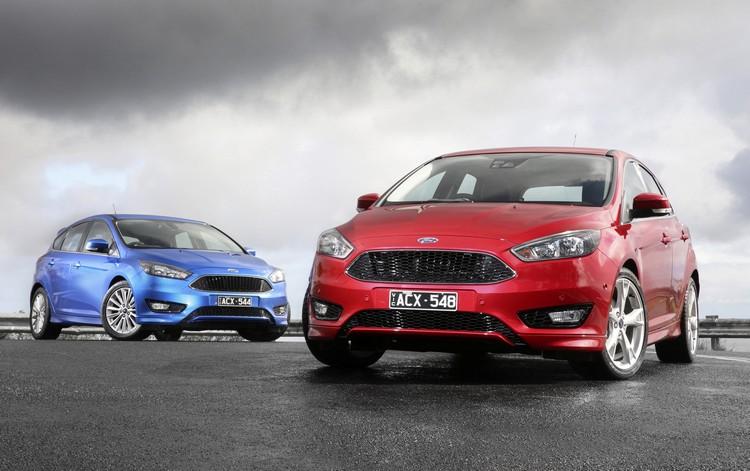 小改款Focus在車頭的變化相當大,也連帶讓它擁有更專注的神情。