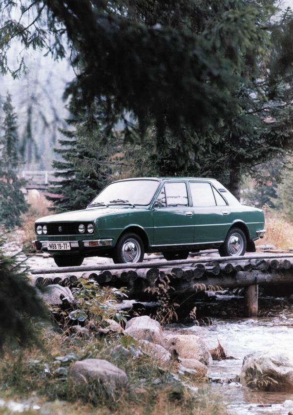 SKODA 120L、RR、4速手排(1976~1990)