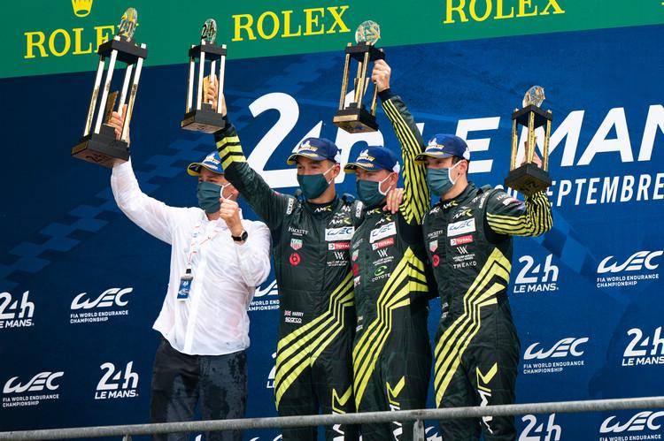 Aston Martin表現精彩,利曼大賽獲勝後也為車廠贏得WEC年度總冠軍。