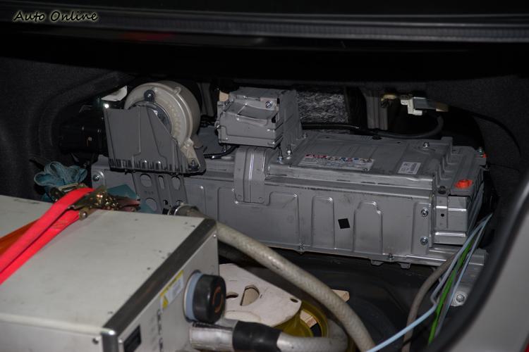 Camry Hybrid所搭載的電池。