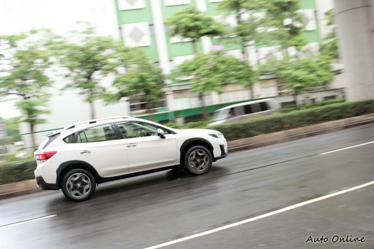 XV帶給駕駛者無比的安心感,SGP全球模組化底盤所賦予的強大優勢。