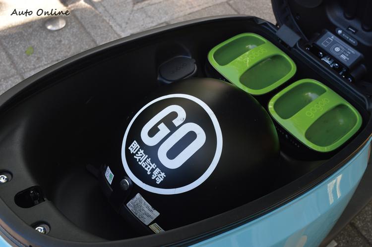 車長加大後,車廂空間也提升至25L。