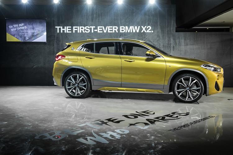 震撼登場 BMW X2 豪華跨界跑旅 205萬元起