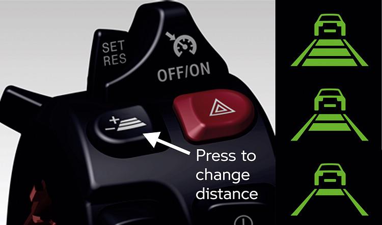 如果汽車上的方向盤,透過手把就可直接進行設定。