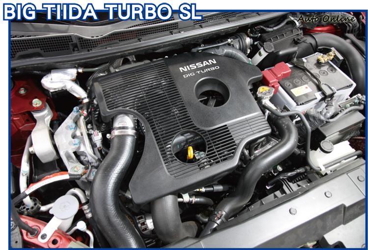 藉由小排量加渦輪的配置,BIG TIIDA 1.6T起步輕快,還有稅賦上的優勢。