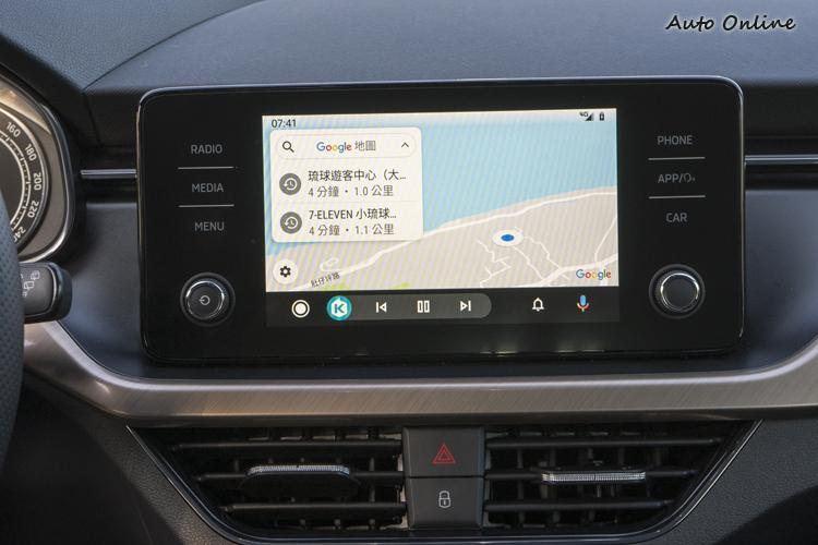 影音系統支援Apple Cayplay與Android Auto等平台。