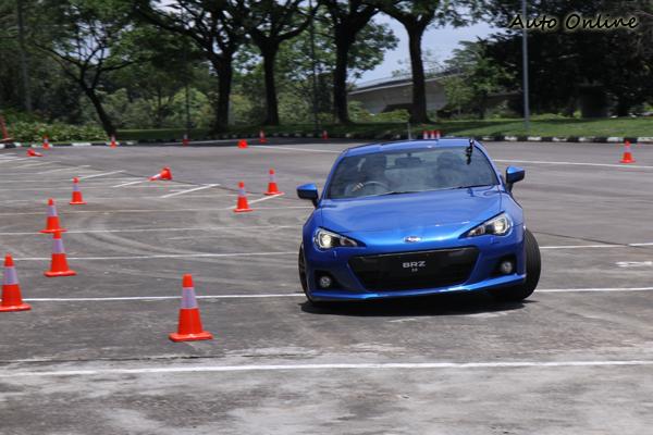低重心所帶來了良好車身平衡讓BRZ的操控表現備受各方期待。
