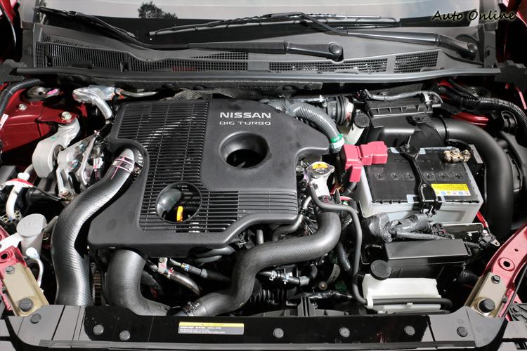 渦輪增壓車型用MR 16DDT 1.6升四缸搭配渦輪增壓系統,最大馬力有185ps及24.5km最大扭力。