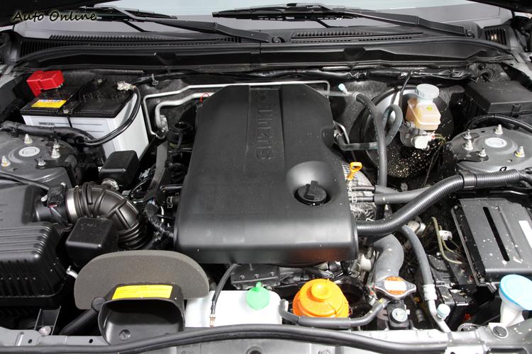 G.Vitara JP的2.4L引擎馬力在三車(2.4L i-VTEC與2.0 Ecoboost)中最弱,但低速扭力還不錯。