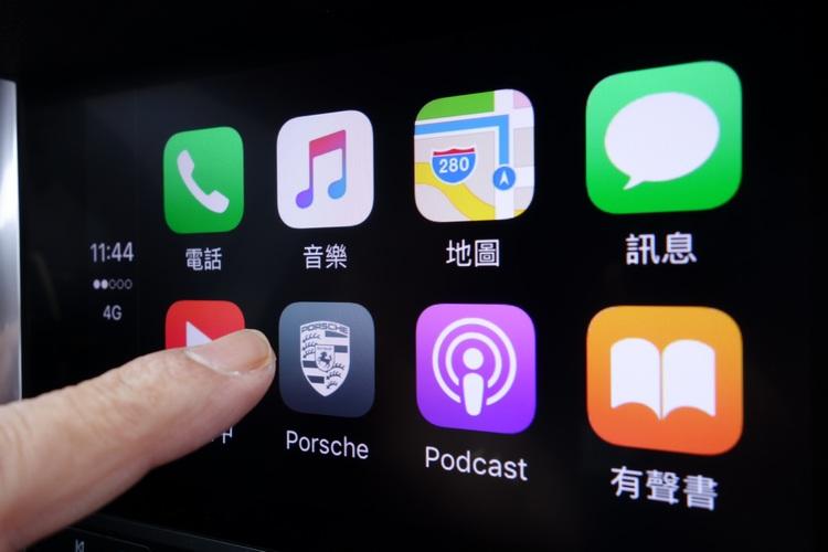 新一代的繁體中文介面保時捷通訊管理系統(PCM),包括7吋多點觸控式螢幕和Apple Carplay的智慧功能。