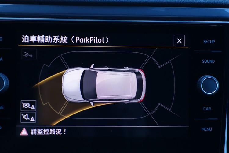 Park Assist自動停車輔助系統讓新手駕駛也能安心停好車輛。