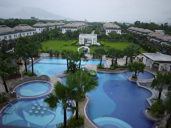 日暉國際度假村在台東是五星級的度假飯店,設施相當完善。