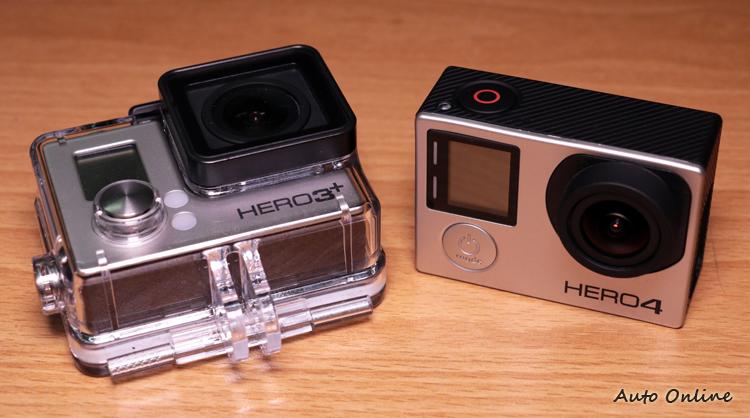 雖然電池無法共用,但是HERO 3+與HERO 4的防水殼仍可以共用。