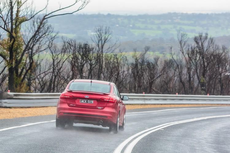 更多駕駛輔助科技的導入,讓Focus的循跡表現優勢持續領先。