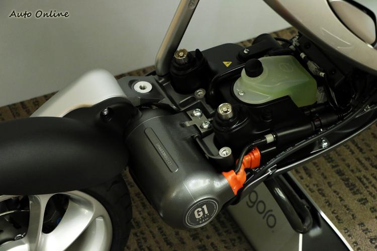 加入水冷的配置,讓馬達的散熱效果更為迅速。