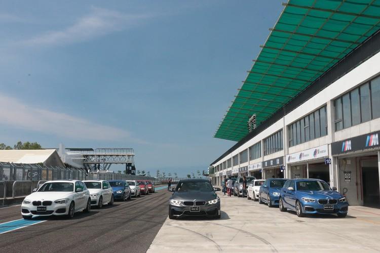 BMW M Power Day活動中可開到M Power全車系,算算三萬五其實也不算太貴。