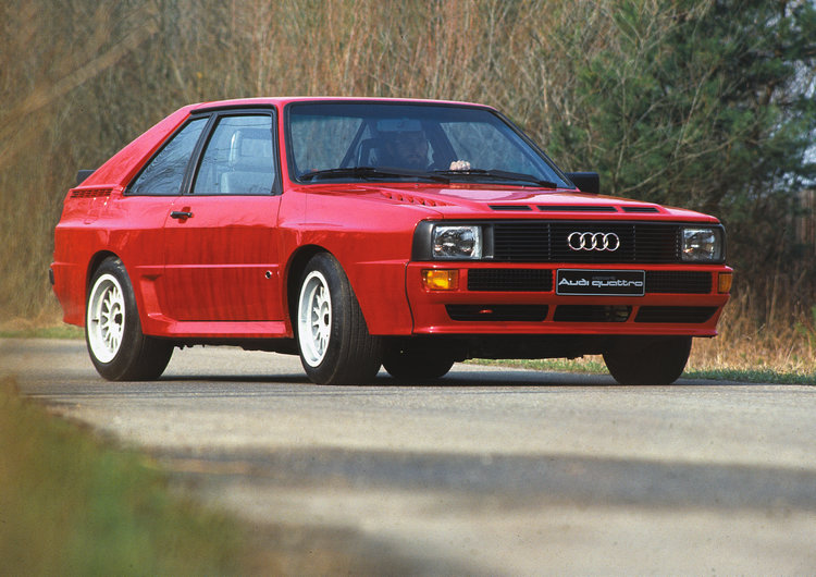Audi Sport quattro僅生產214輛,這是專門為了符合拉力賽事規則而生的特別量產車型,因此排氣量採用2.1升,最大馬力則是306hp/6700rpm。