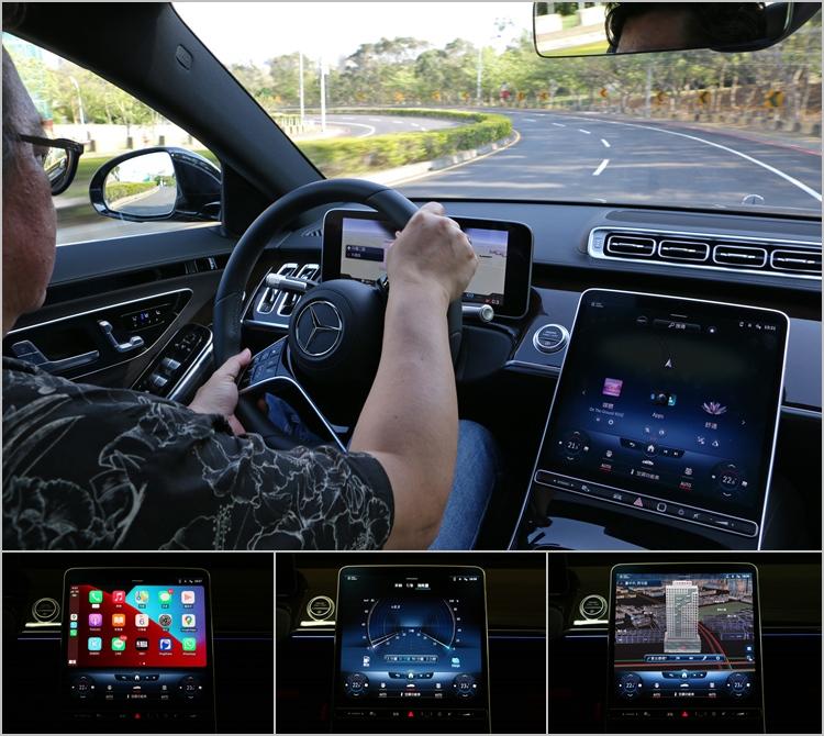 數位儀錶提供更豐富的車輛資訊,也提高了駕駛者掌握路況的能力。至於中央螢幕系統無論功能性或畫面的精美程度都是一絕,而且底部還特別常駐空調調整區域。