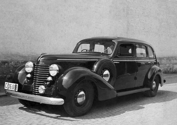 SKODA Superb 4000(1939~1940)