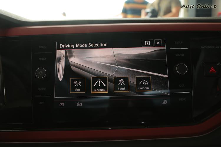 多種駕駛模式的提供,讓不同場合獲得更好的駕駛體驗。