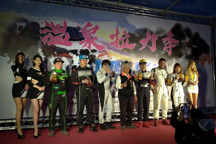 這站要恭喜新立陞車隊游聲緯與陳凱胤,奪得Civic統規第二名。