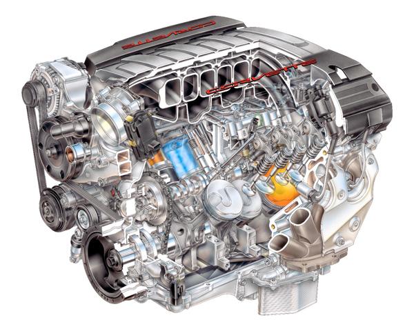 全新的LT1引擎採用三項動力科技,造就出450匹最大馬力以及66.2公斤米最大扭力峰值。